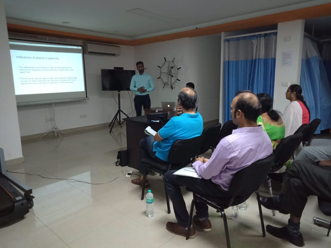 workshop handled by Dr.Ignatius Jacob